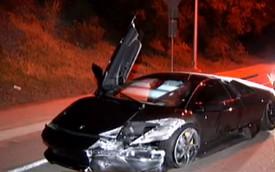 Đôi nam nữ gặp nạn cùng Lamborghini Murcielago mới mua