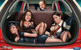 """Ford gặp rắc rối vì quảng cáo """"động chạm"""""""