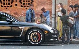 Hà Hồ tậu Porsche Panamera Turbo đen bóng