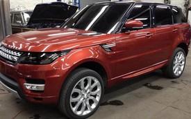 """Range Rover Sport 2014 bất ngờ bị rò rỉ """"ảnh sống"""""""