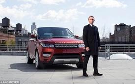 """""""Điệp viên 007"""" giới thiệu Range Rover Sport 2014 trên phố"""