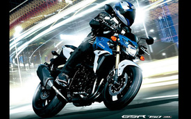 Thêm tự tin và an toàn với Suzuki GSR750 ABS
