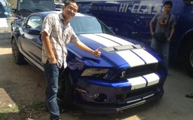 Chiêm ngưỡng Ford Mustang Shelby GT500 2013 tại Việt Nam