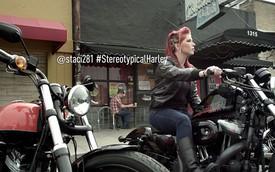 Harley-Davisdon - Nhãn hiệu môtô yêu thích của chị em phụ nữ