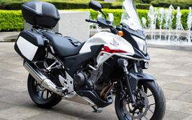 Honda 400X mang phong cách Ducati Multistrada