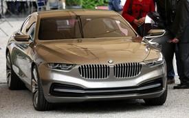 BMW Gran Coupe Lusso lăn bánh tại Concorso d'Eleganza Villa d'Este