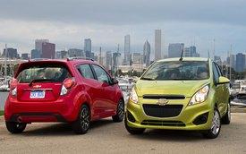 Chevrolet Spark 2014: Tiết kiệm nhiên liệu hơn