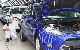 Ford tăng cường sản xuất Fiesta tại Thái Lan
