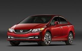 """Honda Civic 2013 được công nhận """"an toàn tối đa"""""""