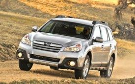 Subaru Legacy và Outback 2014 đã có giá bán