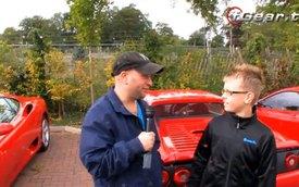 Cậu bé 12 tuổi sở hữu 3 siêu xe Ferrari