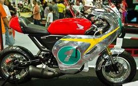 Xe côn tay Honda MSX125 hóa thân thành xế đua
