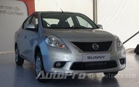 Nissan Sunny có giá 518 triệu Đồng tại Việt Nam