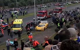 Koenigsegg CCR gây họa, 19 người bị thương