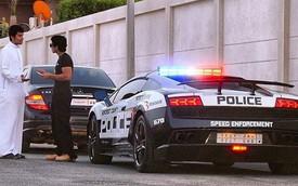 Lamborghini Gallardo LP570-4 Superleggera làm xe cảnh sát