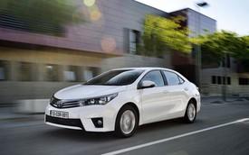 Toyota Corolla 2014 bản Âu: Chỉ tốn 3,8 lít/100 km