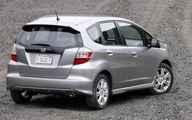Honda Fit dính án thu hồi