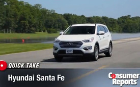 Hyundai Santa Fe 7 chỗ: Tiết kiệm xăng bất ngờ