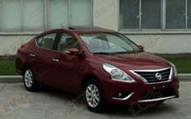 Nissan Sunny 2014 gắn mũi Altima