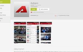 AutoPro ra mắt ứng dụng đọc báo trên di động