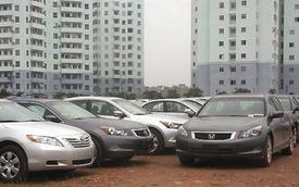 Hà Nội: Thuế trước bạ ôtô giảm xuống còn 12%