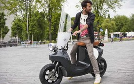 Van.Eko Be.e - Xe scooter sinh học đầu tiên trên thế giới