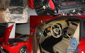 """Ferrari khó chịu vì xe chính hãng bị """"nhái"""" trắng trợn"""