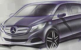 Đây có phải là Mercedes-Benz Viano thế hệ mới?