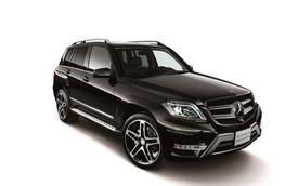 "Mercedes-Benz GLK phiên bản ""đen tuyền"""