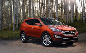 Hyundai Santa Fe Sport tăng giá bán