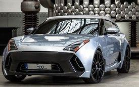 """InEco Concept Coupe - """"Con lai"""" của Hyundai Veloster và Volkswagen Scirocco"""