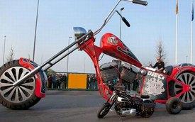 Regio Design XXL Chopper - Môtô lớn nhất thế giới