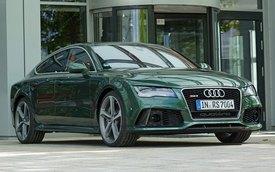 """Giám đốc điều hành Audi lái RS7 màu """"mượn"""" từ Bentley"""