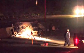 Đôi nam nữ đuổi nhau bằng xe hơi, 4 người chết