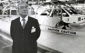"""Eiji Toyoda - """"Cha đẻ"""" của dòng xe Toyota hiện đại"""