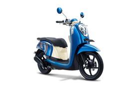 Trẻ trung và phong cách với Honda Scoopy FI xanh dương