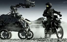 Honda XRE300 2014 biểu diễn trên sao Hỏa