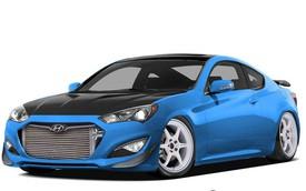 Hyundai Genesis Coupe phiên bản 1.000 mã lực