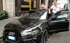 Zlatan Ibrahimovic tậu Audi RS6 Avant đen bóng