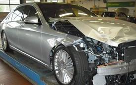 Choáng với giá của Mercedes-Benz S-Class đời mới nhưng nát mũi