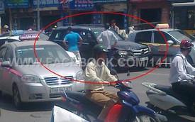 Hà Nội: Nghi án cướp Mercedes-Benz GLK 2013 giữa ban ngày