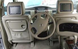 Xế lạ: Nissan Patrol với vô-lăng cho hành khách ngồi ghế sau