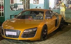 Thủy Tiên mượn siêu xe Audi R8 để đi hát