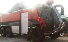 Cảnh sát phòng cháy chữa cháy Khánh Hòa được trang bị xe triệu đô