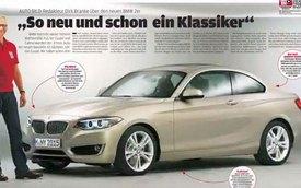 BMW 2-Series Coupe lộ diện trên bìa tạp chí