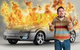 Những điều cần làm khi xe điện bị cháy