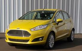 Ford Fiesta EcoBoost 2014 tiết kiệm xăng hơn cả Mitsubishi Mirage