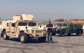 Đến huyền thoại xe quân sự Humvee cũng bị độ