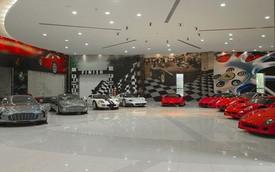 Khu liên hợp siêu xe độc đáo của Thái tử Abu Dhabi