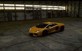 Lamborghini Aventador đạt vận tốc 332 km/h trong ngày mưa